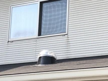 スカイライトチューブ屋根の完成