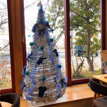 小郡スタジオのクリスマスツリー