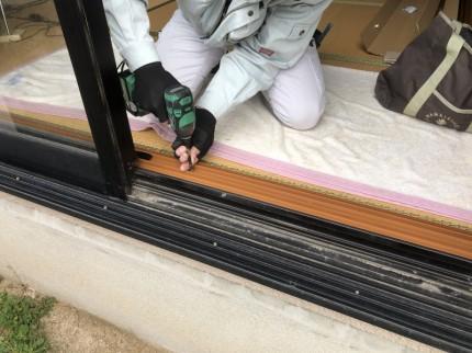 7内窓枠取付①
