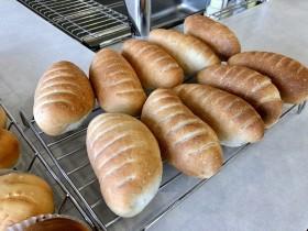 パン教室で作ったピーナッツロール