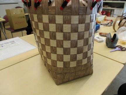 PP素材のカゴバッグ