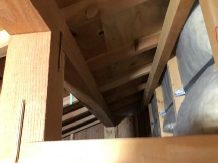 スカイライトチューブ天井の確認