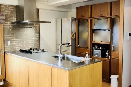 改修後のキッチン