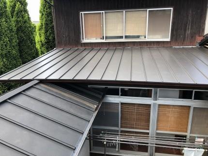 傷傷みがひどい為修繕した屋根