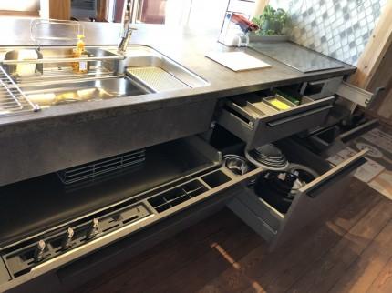最新キッチン収納