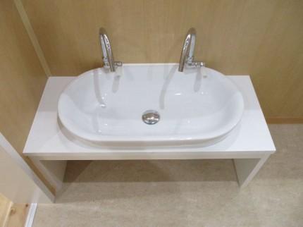 上から見た手洗い器