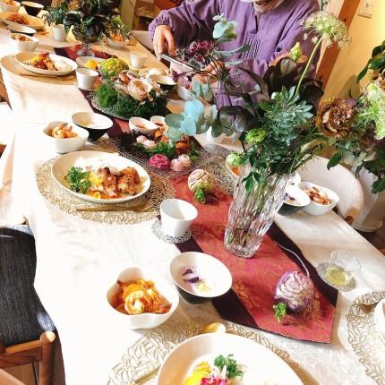 タイ料理でクリスマスディナー