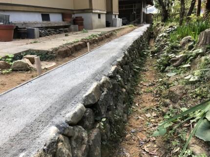 ④撤去後コンクリート仕上げ 2