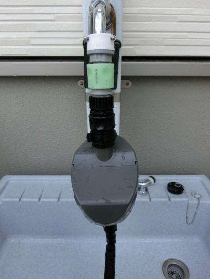 ①自動散水タイマー