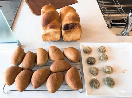 7月のパン教室作品
