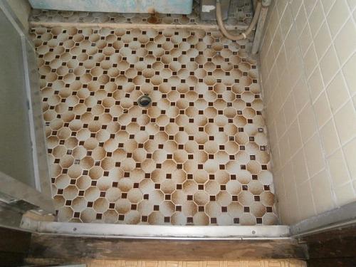 浴室床 1