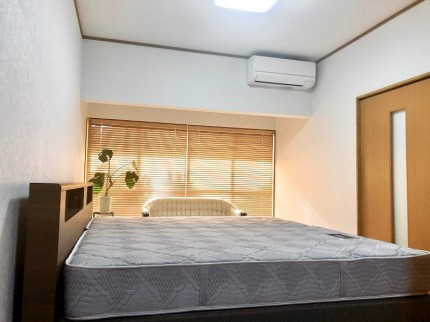 ベッドが入った寝室