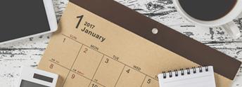 庭仕事カレンダー